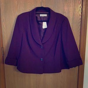 Purple jacket! Brand new!